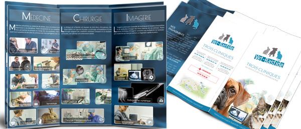 Brochure veterinaire de la Bastide
