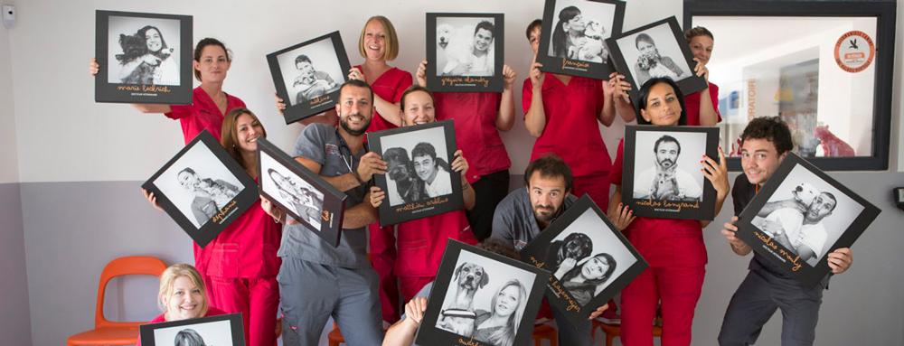 Photos individuelles sur tableaux- Clinique vétérinaire de la Clauvade-83-Cuers