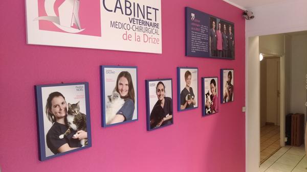 Photos individuelles sur tableaux- Cabinet Vétérinaire de la Drize-74-Collonges
