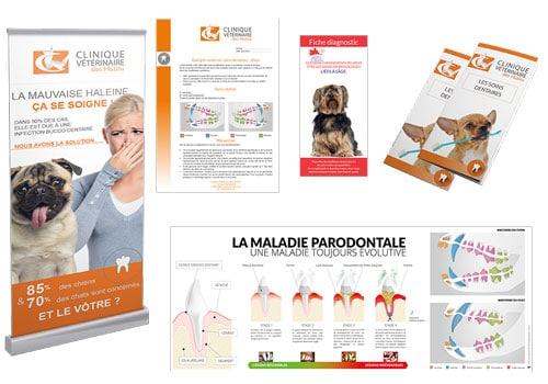 soins dentaires détartrage pack marketing